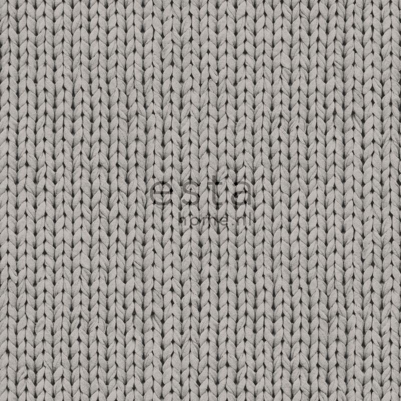 wallpaper knit gray