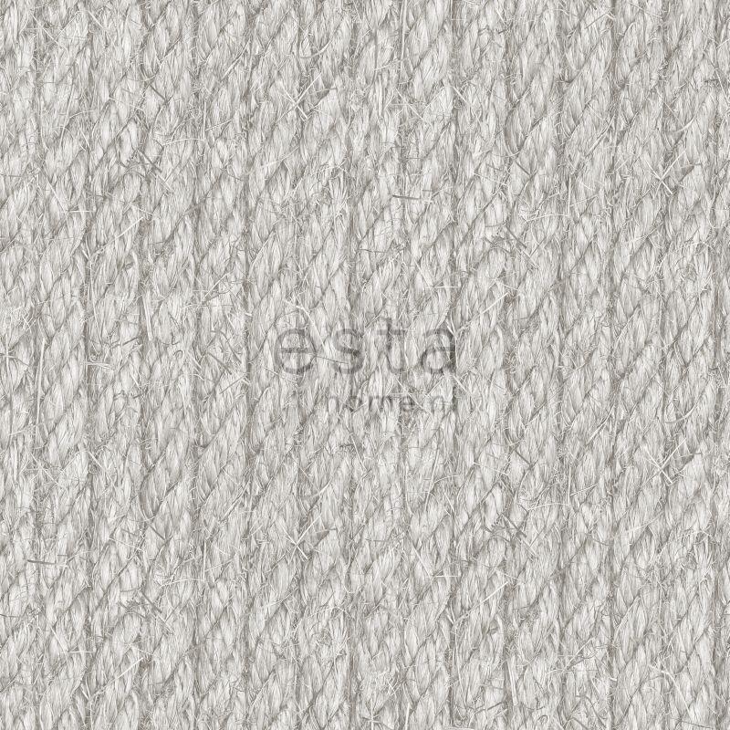 wallpaper rope gray