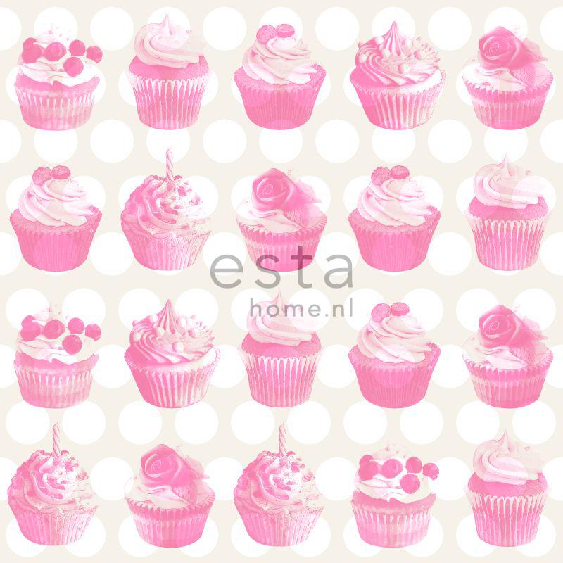 wallcovering cupcakes