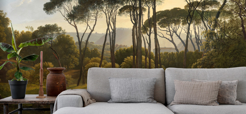 forest wall murals