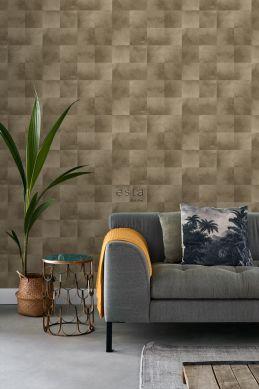 living room wallpaper animal skin cervine 139182
