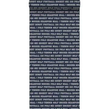 wallpaper all sports navy blue