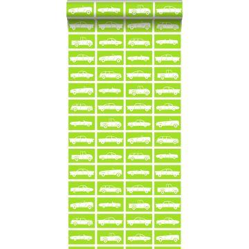 wallpaper cars lime green