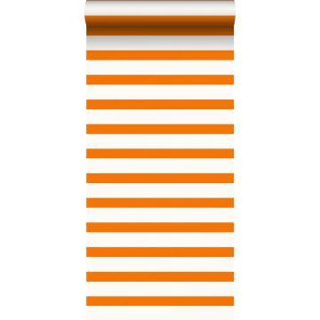 wallpaper stripes orange and white