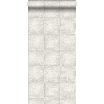 wallpaper concrete look light gray