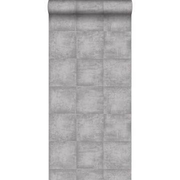 wallpaper concrete look gray