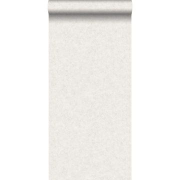 wallpaper plain concrete look off-white