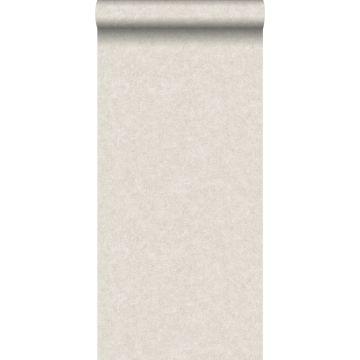 wallpaper plain concrete look light beige