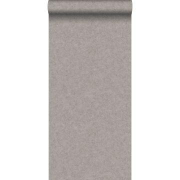 wallpaper plain concrete look brown