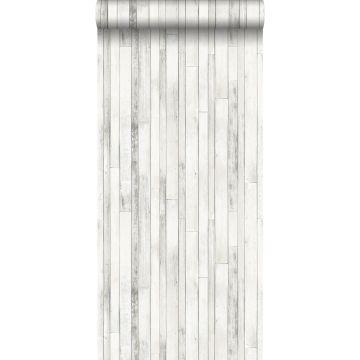 wallpaper scrap wood old white