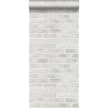 wallpaper brick wall gray