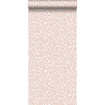wallpaper leopard skin soft pink