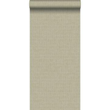 wallpaper crocodile skin beige