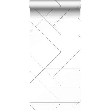 wallpaper graphic lines black and white