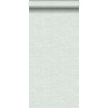 wallpaper linen look mint green