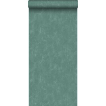 wallpaper plain with painterly effect teal