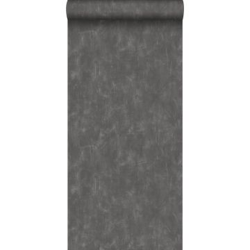 wallpaper plain with painterly effect dark gray