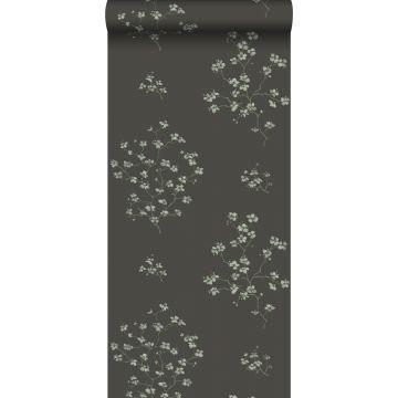 wallpaper blossom branches black