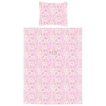 junior duvet cover set paisleys pastels