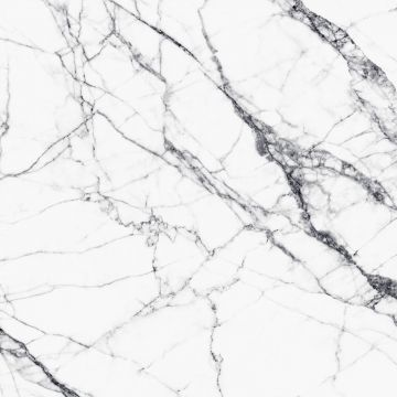wall mural marble white and gray
