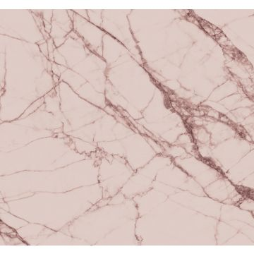 wall mural marble gray pink