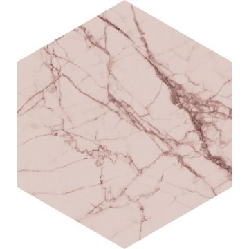 wall sticker marble gray pink