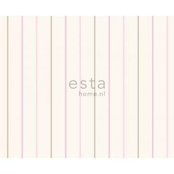 fabric stripes pink