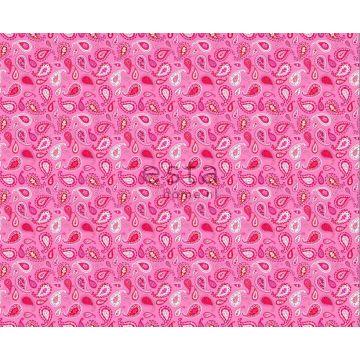 fabric paisleys candy pink