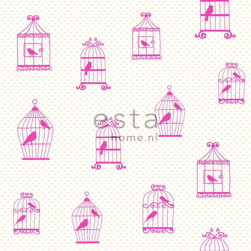 wallcovering birdcage
