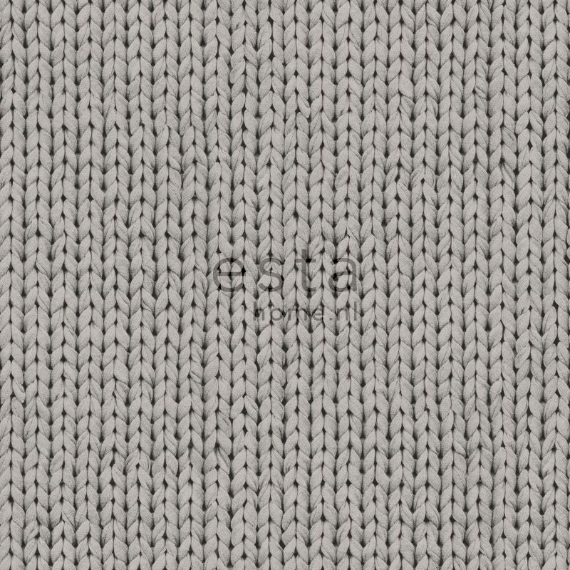 wallpaper knit gray