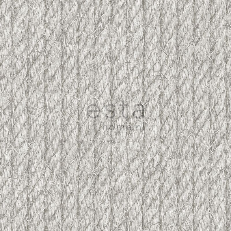wallpaper rope gray
