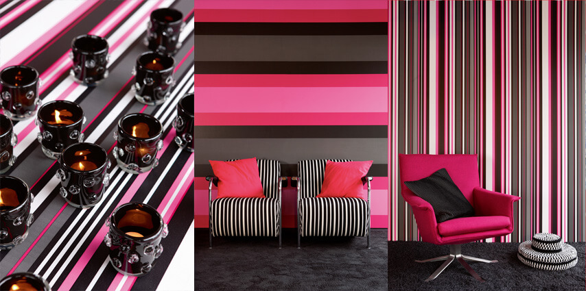 Wallpaper tips stripes
