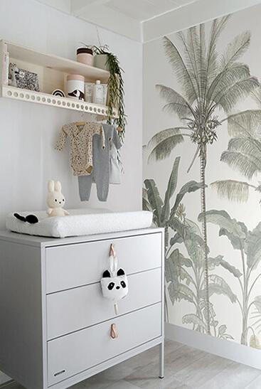 jungle wallpaper kids' room